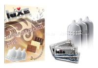 Ароматизированные презервативы со вкусом шоколада (3 шт.)
