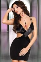 Коротенькое платье с открытой спинкой S
