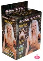 Пышногрудая блондинка с реалистичной вагиной Wild Cat