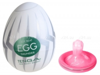 Супер эластичный мастурбатор в виде яйца THUNDER