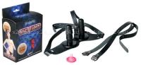 Универсальные страпон-трусики с двумя штырьками Vac-U-Lock дуэт