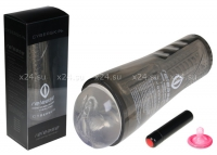 Мастурбатор-вагина в пластиковом футляре Release Vibrating Stroker (6 режимов)