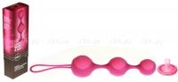 Вагинально-анальные силиконовые шарики Stella III