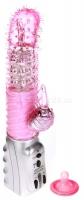 Ротационный вибратор с пупырышками для G-стимуляции Vibration Loveliness Angel