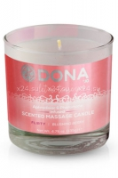 Массажная свеча Dona Scented Massage Candle Flirty Aroma Blushing Berry
