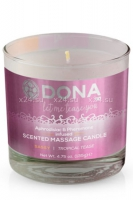 Массажная свеча Dona Scented Massage Candle Sassy Aroma Tropical Tease