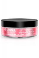 Увлажняющий крем-масло для массажа DONA Massage Butter Flirty Aroma - Blushing Berry (115 мл)