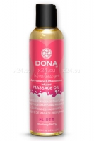 Массажное масло DONA Scented Massage Oil Flirty Aroma: Blushing Berry 110 мл
