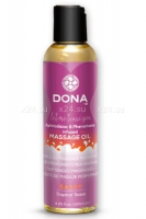 Массажное масло DONA Scanted Massage Oil Sassy Aroma: Tropical Tease 110 мл