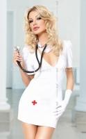 Мини-платье медсестры XL