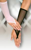 Белые сетчатые перчатки
