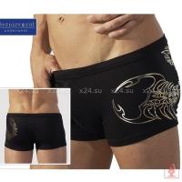 Мужские шорты с золотистым скорпионом XL