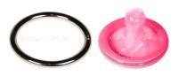 Стальное эрекционное кольцо Steel Cock Ring 1,8''