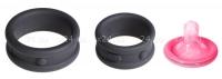 Два широких силиконовых кольца Max-Width Silicone Rings
