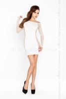 Белое платье Кокетка SL