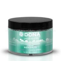 Ароматизированная соль для ванны меняющая цвет воды DONA Bath Salt Sinful Spring 215 г