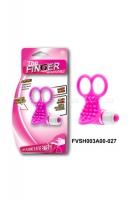 Вибронасадка на пальцы для стимуляции клитора The Finger (10 режимов)