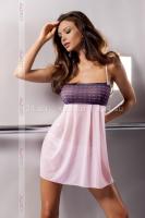 Светло-розовая сорочка Muna Chemise LXL