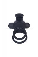 Эрекционное кольцо на член и мошонку DUO (10 режимов)