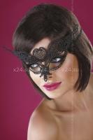 Чёрная ажурная маска Mask Black Model 10