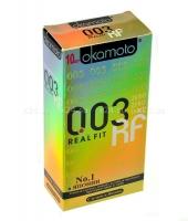Презервативы OKAMOTO Real Fit No10 (10 шт)