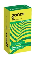 Презервативы GANZO Ultra thin No12 Супер тонкие