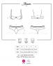 Эротичный комплект белья с ажурными вставками Miamor Set LXL