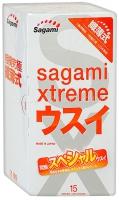 Презервативы ультратонкие Sagami Xtreme 0,04 мм 15 (15 шт.)