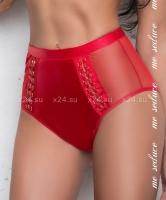 Красные трусы с высокой талией Olivia knickers SM
