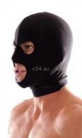 Маска-шлем черная Spandex 3-Hole Hood
