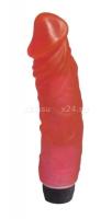 Розовый реалистичный фаллос с вибрацией
