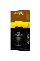 Ребристые презервативы Domino Nicу Contour (6 шт)