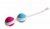 Вагинальные шарики разного веса в силиконовой оболочке (легкие)