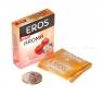 Ароматизированные презервативы EROS Aroma со вкусом клубники ( 3 шт.)