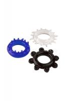 Набор эластичных эрекционных колец A-Toys