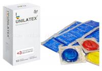 Презервативы UNILATEX мультифрукт (12 шт)