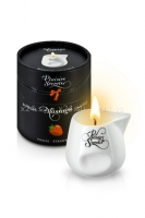 Массажная свеча с ароматом клубники Bougie Massage Candle (80 мл)