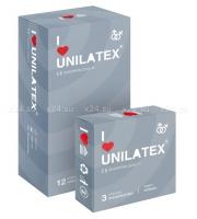 Презервативы UNILATEX ребристые (3 шт.)