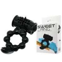 Эрекционное кольцо с вибратором Sweet Ring