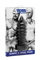 Анальная бомба Tom of Finland Screw U Anal Plug