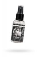 """Парфюмированная вода для мужчин для тела и белья с феромонами и ионами серебра Natural Instanct """"MUSK STONE"""" 50 мл"""
