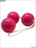 Трехрядные вагинальные шарики со смещенным центром тяжести Eroticon Balls