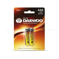 Набор из 2-х батареек DAEWOO ENERGY Alkaline  (тип AAA)