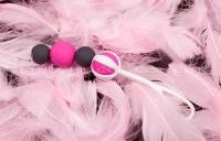 Магнитные вагинальные шарики разного веса Geisha Balls Magnetic (4 шарика)