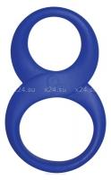 Силиконовое кольцо на член и мошонку 8 Ball Ring