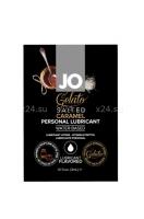 Вкусовой лубрикант на водной основе Sachet JO Gelato Salted Caramel (соленая карамель) 3 мл