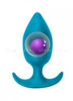 Пробка для ношения со смещенным центром тяжести Spice it up Insatiable Aquamarine
