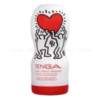 Мастурбатор TENGA&Keith Haring Deep Throat (глубокая глотка)