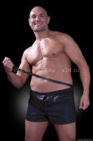 Боксеры с поводком Obedience Boxer