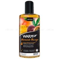 Разогревающее съедобное массажное масло со вкусом манго и маракуйи WARM UP 150 мл